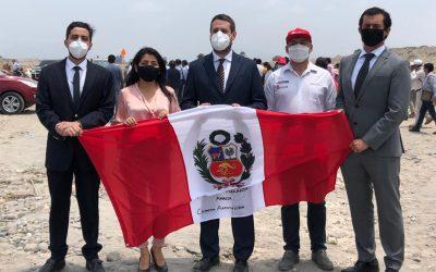 Flesan Obras Públicas firma compromiso con Estado Peruano en obra Río Matagente